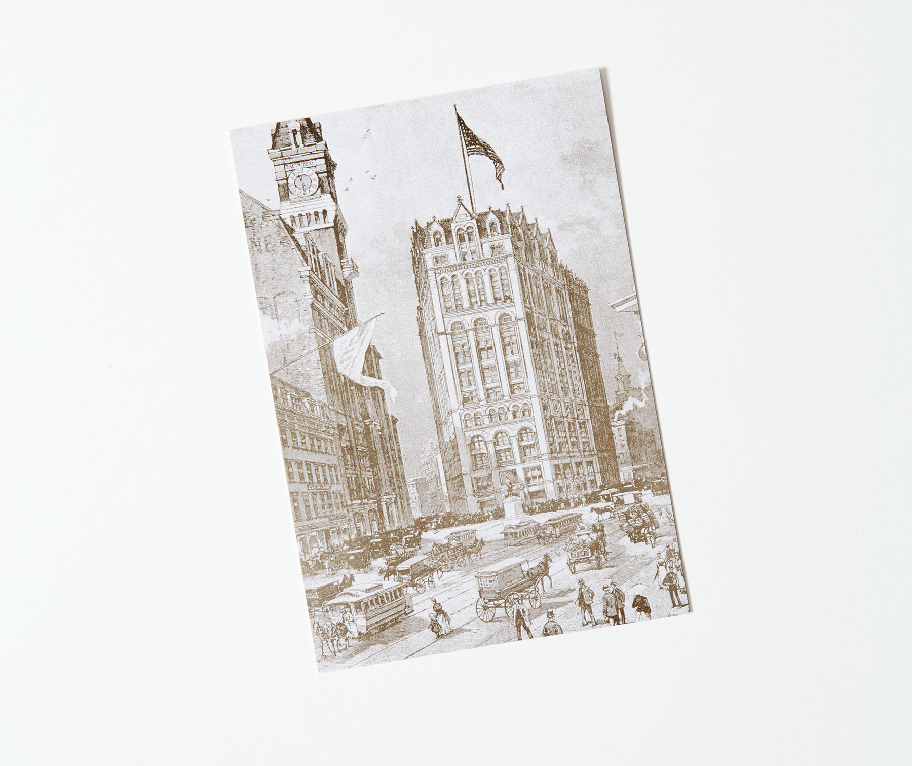 Printing House Square Postcard Front