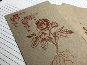 Radix Media Postcard, Front