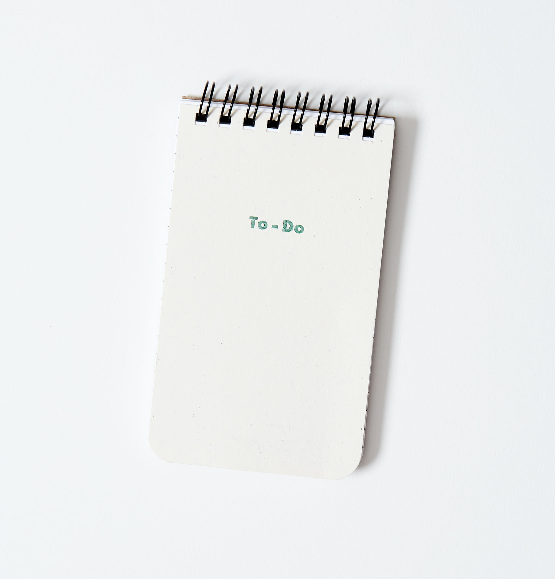 To-Do Notebook Front