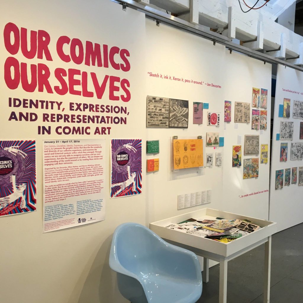 Ours Comics Ourselves, an exhibition at the Interference Archive