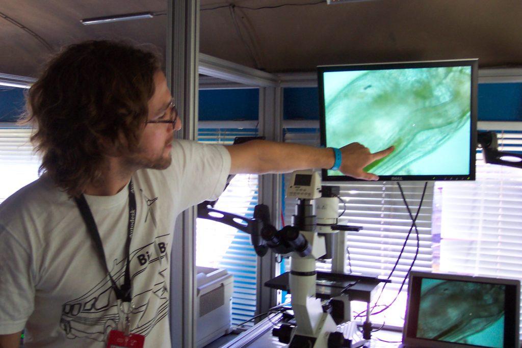 Dr. Ben Teaching