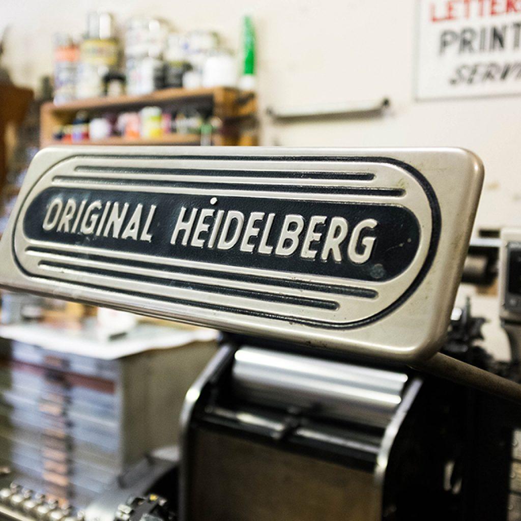 New Processes! Heidelberg Windmill Press at Radix Media