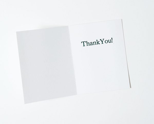 Really, Truly, Sincerely Thank You Note Card Interior