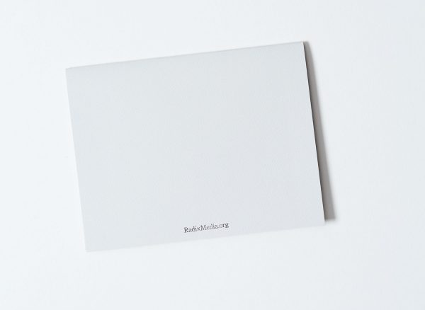 You're the Greatest Letterpress Note Card Back