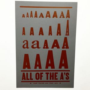 All of the A's