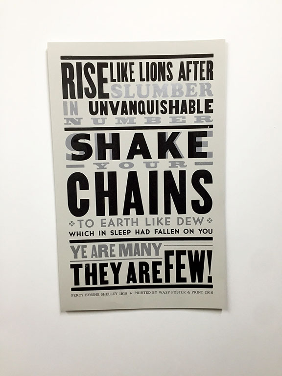 Rise Like Lions Poster