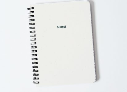 NOTES Notebook, wire-bound