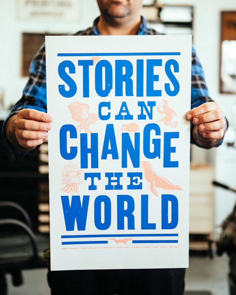 Stories Can Change the World - Photo by www.wildbloomphotography.com