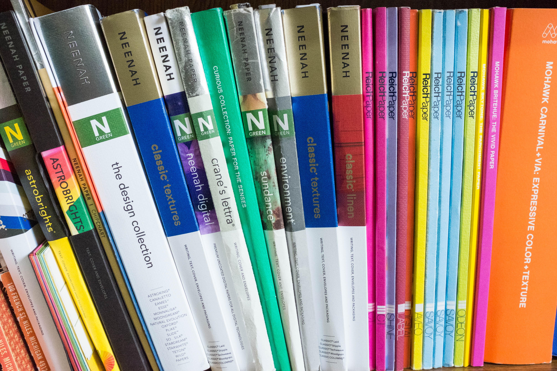 Paper Swatchbooks