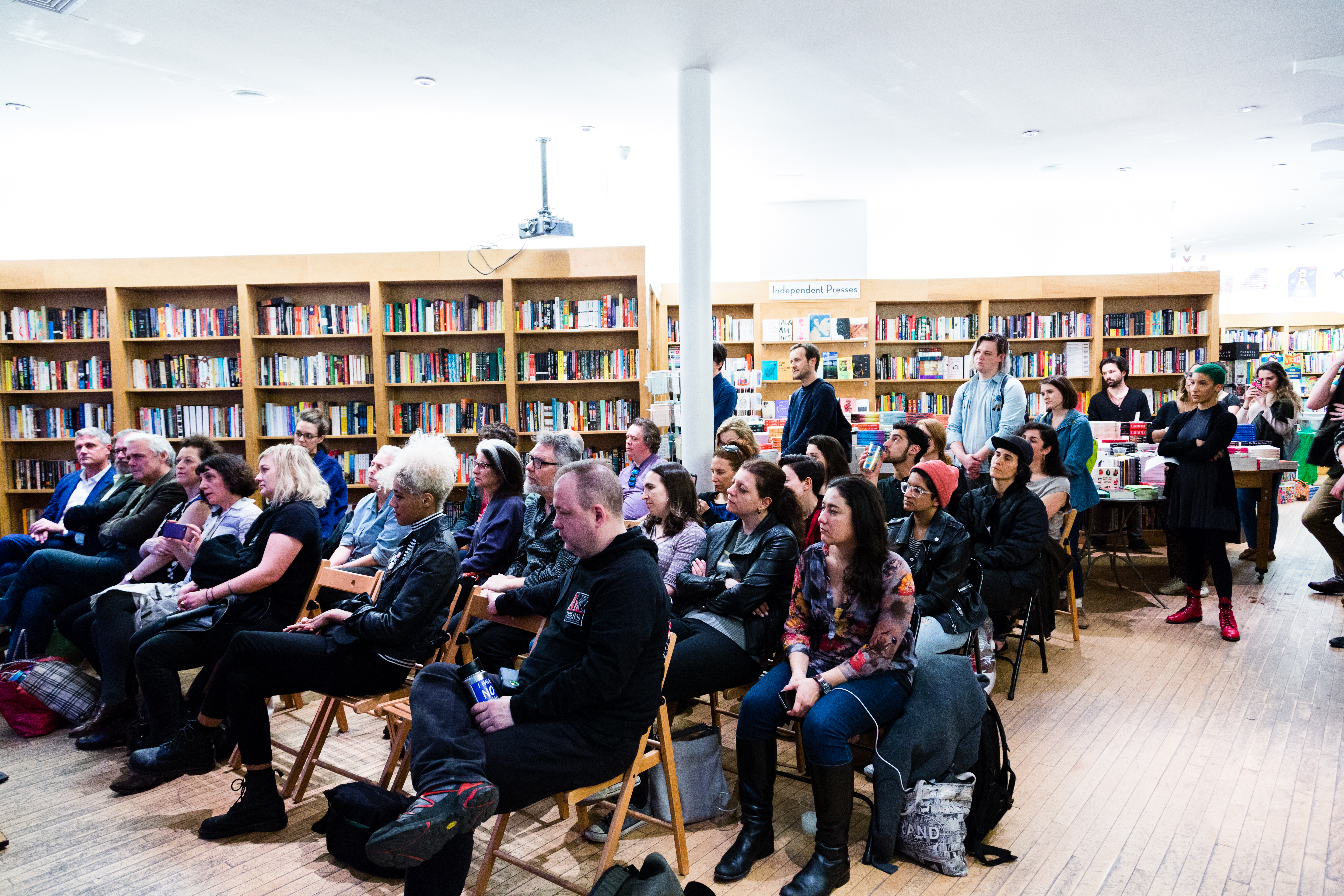 AFTERMATH Launch - standing room only!