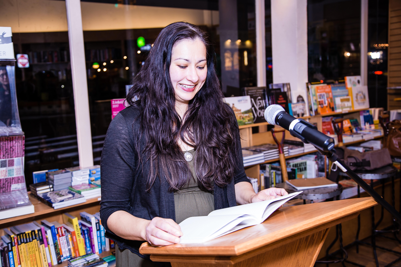 AFTERMATH Launch - Contributor Alison McBain