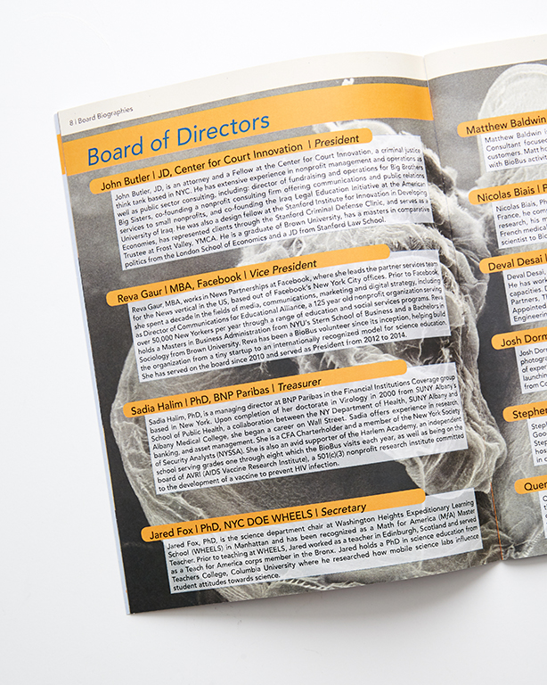 Booklets - BioBus Annual Report (interior)