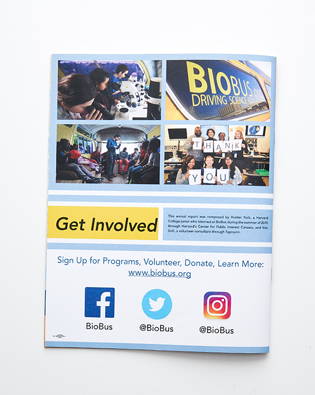 Booklets - BioBus Annual Report (back)