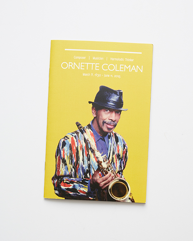 Booklets - Ornette Coleman (front)