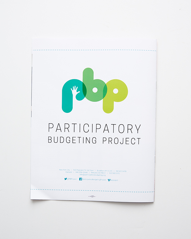 Booklets - Participatory Budgeting Project Annual Report