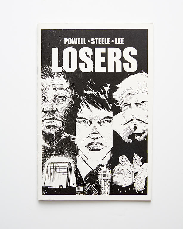 Booklets - Losers Comic (front)