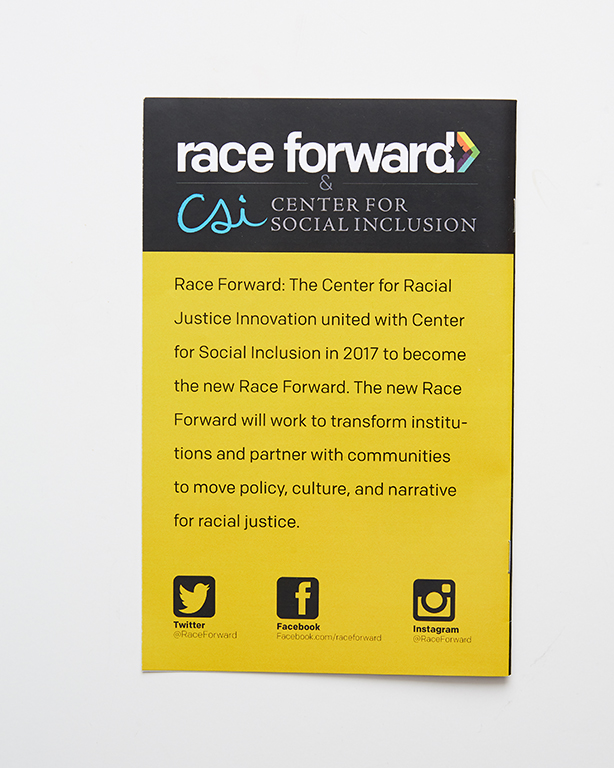 Booklets - Race Forward (back)
