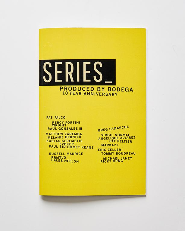 Booklets - Bodega Zine (front)