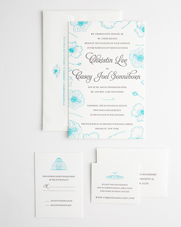 Invitations - Letterpress Suite