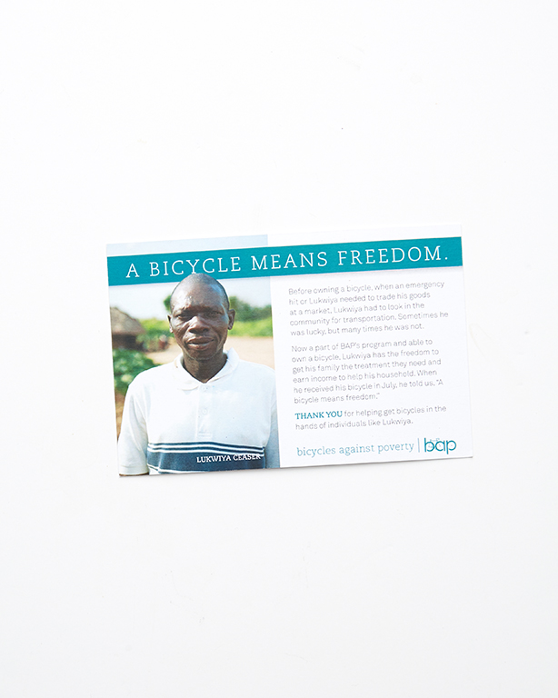 Postcards - Bicycles Against Poverty