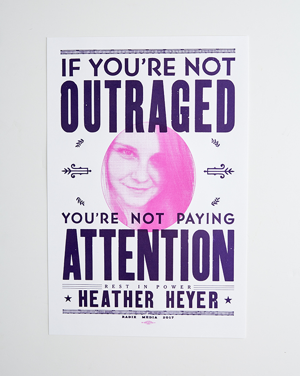 Posters - Heather Heyer