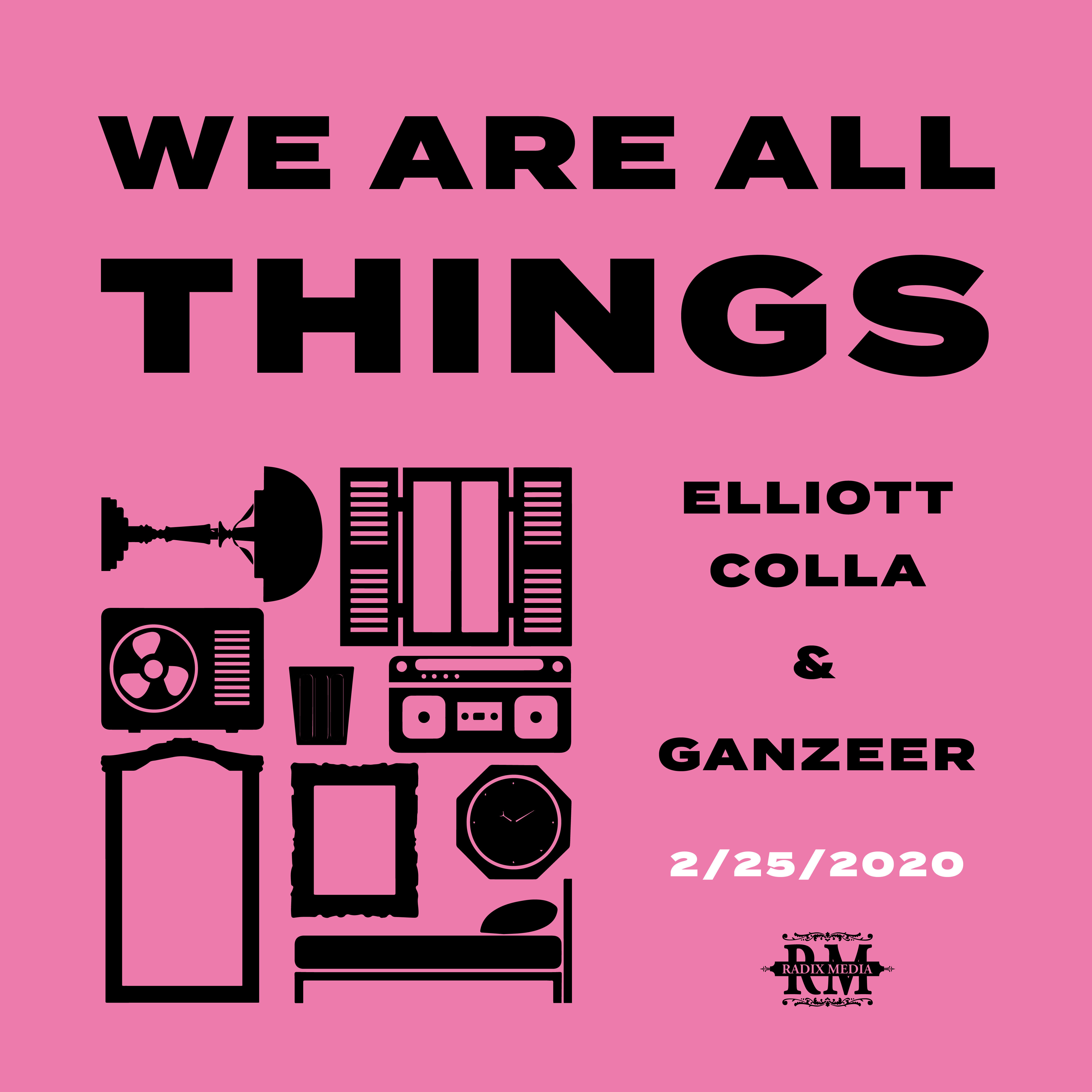 Announcing: WE ARE ALL THINGS by Elliott Colla & Ganzeer