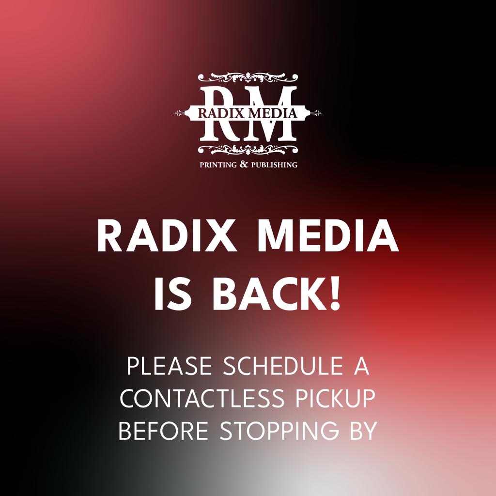 Radix Media is BACK!
