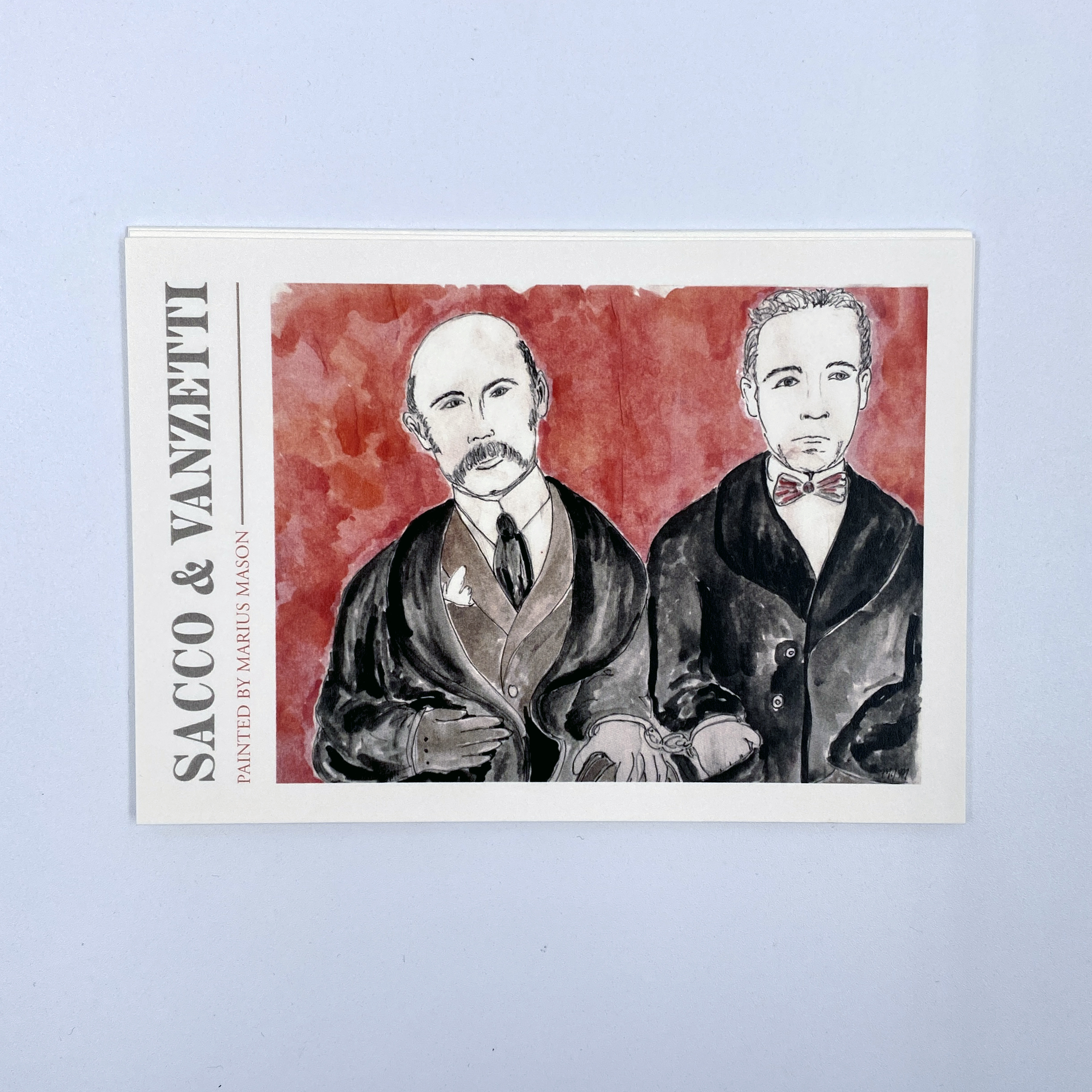 Sacco & Vanzetti — Painting by Marius Mason