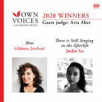 2020 Own Voices Chapbook Prize Winners
