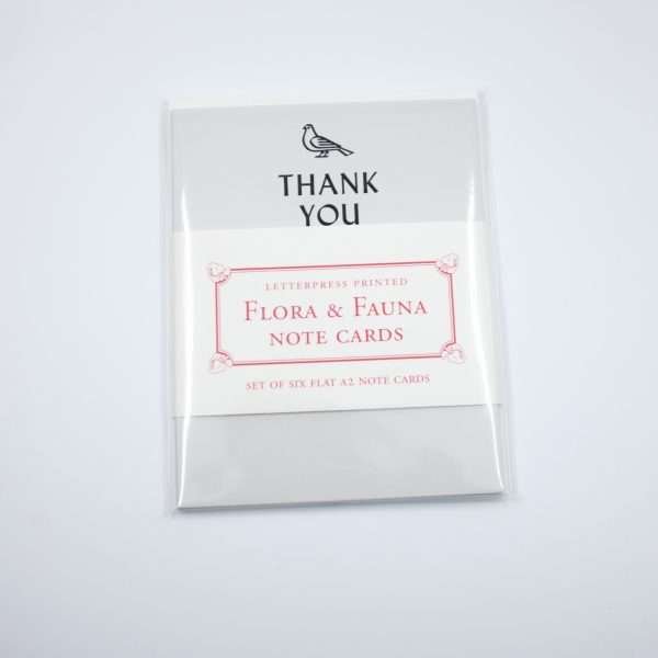 Flora & Fauna Thank You Card Set