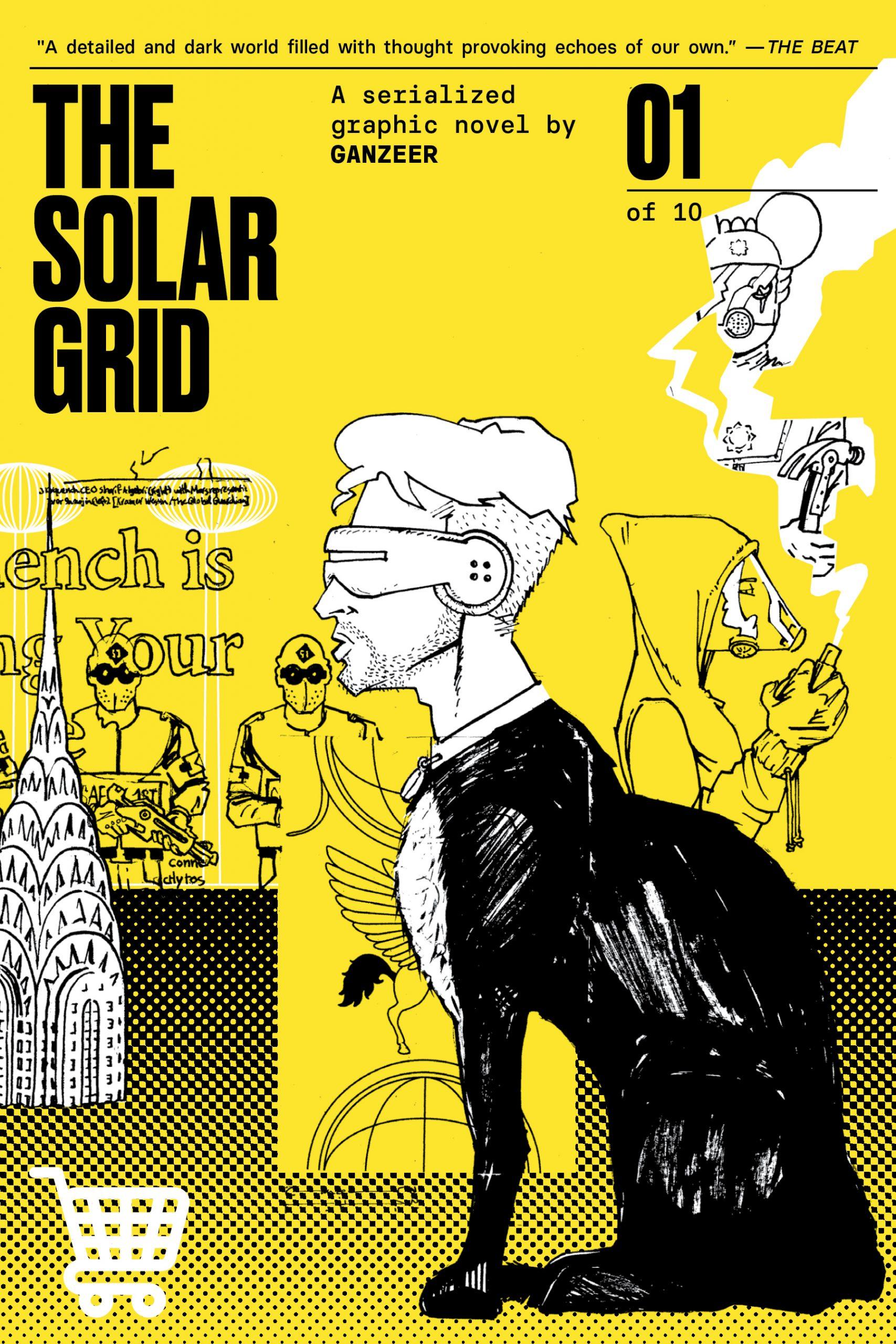 THE SOLAR GRID by Ganzeer