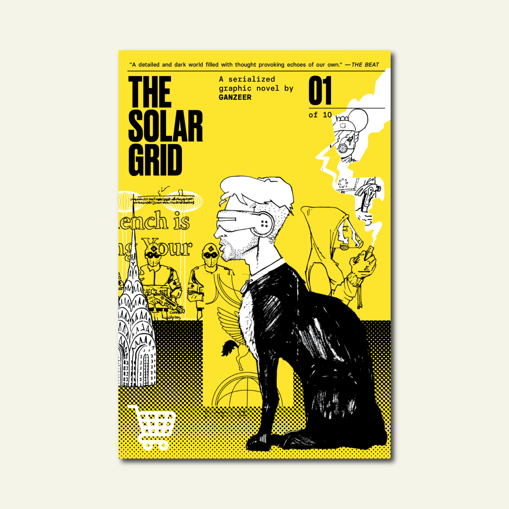 The Solar Grid: A Serialized Comic by Ganzeer